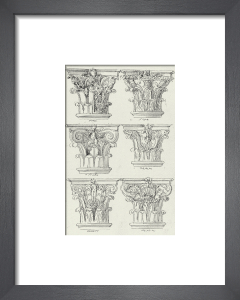 English Architectural VI by The Vintage Collection