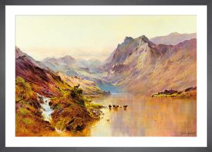 Highland Peaks by Alfred de Breanski