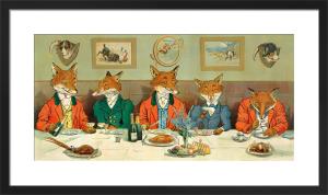 Mr Fox's Hunt Breakfast by Harry Neilson