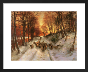 Through the Calm and Frosty Air by Joseph Farquharson