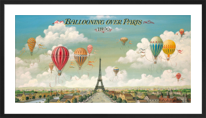 Ballooning over Paris by Isiah and Benjamin Lane
