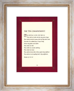 The Ten Commandments by Anonymous