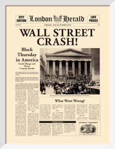 Wall Street Crash by London Herald