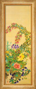 Flowers and Grasses I by Suyuki Kitsu