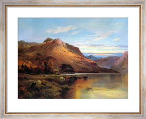 Lakeside Rendezvous (Kirk at Arrochar) by Alfred de Breanski