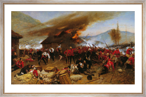 The Defence of Rorke's Drift by Alphonse Marie de Neuville
