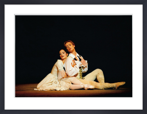 Darcy Bussell and Igor Zelensky by Bill Cooper