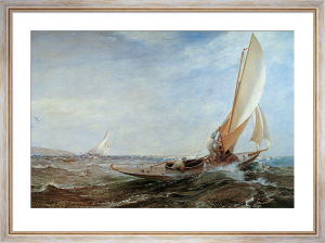 Through Sea and Air by Charles Napier Hemy