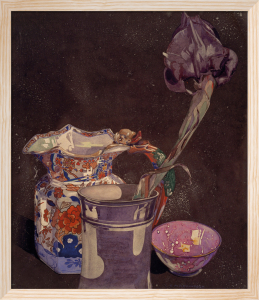 Grey Iris by Charles Rennie Mackintosh