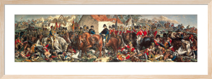 Wellington and Blucher by Daniel Maclise