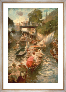 Boulter's Lock: Sunday Afternoon by Edward Gregory