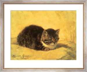 The Parson's Kitten by Henriette Ronner-Knip