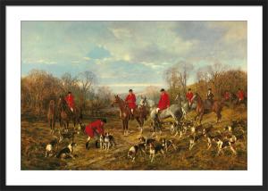 Autumn Meeting by Heywood Hardy