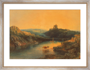 Norham Castle by Joseph Mallord William Turner