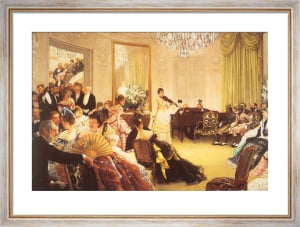 The Concert by James Jacques Joseph Tissot
