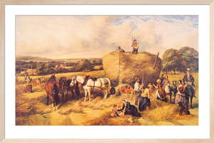 Haymaking by John James Wilson