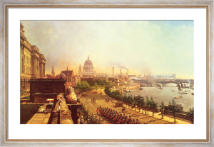 The Embankment from Somerset House by John O'Connor