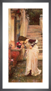 The Shrine by John William Waterhouse