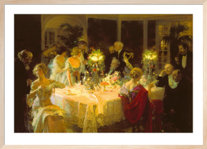 The Dinner Party by Jules Grun