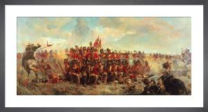 Quatre Bras, 1815 by Lady Elizabeth Butler