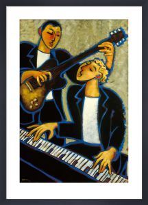 Piano and Guitar by Marsha Hammel
