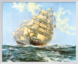 Ariel' and 'Taeping' by Montague Dawson