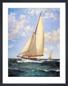 Stretch to Seaward by Montague Dawson