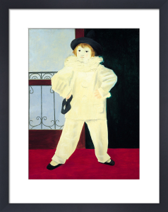 Paul as a Pierrot by Pablo Picasso