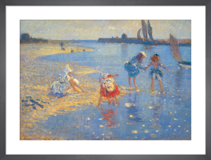 Walberswick: Children Paddling by Philip Wilson Steer