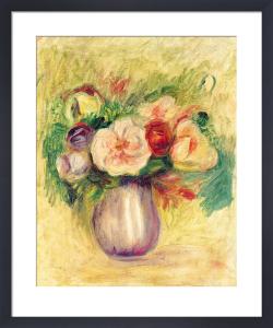 Vase de Fleurs by Pierre Auguste Renoir