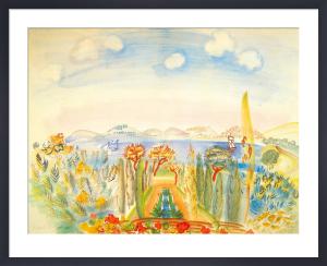 La Baie de Nice by Raoul Dufy