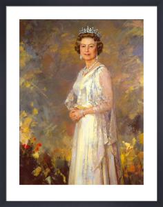 Her Majesty Queen Elizabeth II by Ricardo Macarron