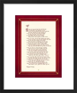If by Rudyard Kipling