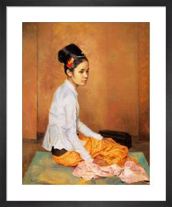 Burmese Pearl by Sir Gerald Kelly
