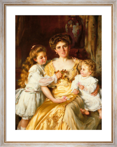 A Mother's Love by Sir Thomas Benjamin Kennington