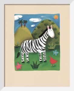 Zara the Zebra by Sophie Harding