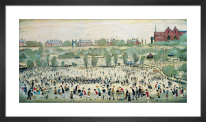 Peel Park, Salford by L S Lowry