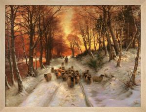 Through the Calm and Frosty Air by Joseph Farquharson