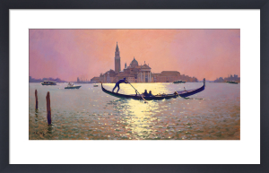 Looking towards San Giorgio by Peter Curling