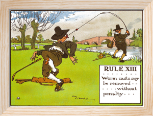 Rules of Golf - Rule XIII by Charles Crombie