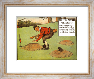 Rules of Golf - Rule XVIII by Charles Crombie