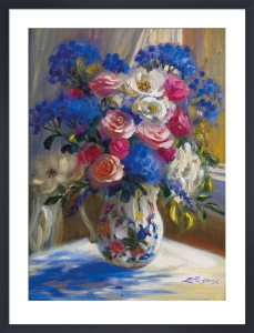 Roses on a Window Sill by Elizabeth Parsons
