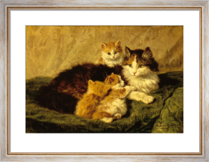 Contentment by Henriette Ronner-Knip