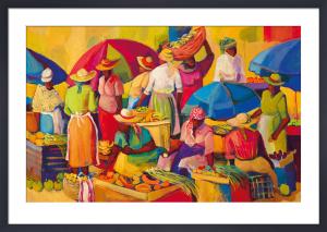 Market day by Vanita Comissong