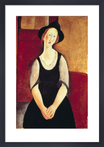 Portrait of Thora Klinchowstrom by Amedeo Modigliani