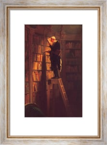 The Bookworm (s) by Carl Spitzweg