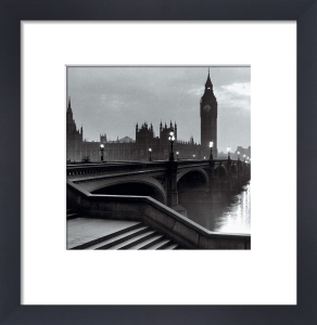 Bridge with Big Ben (square) by Anonymous