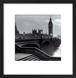 Bridge with Big Ben (square) by The Chelsea Collection