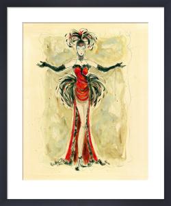 Lady Burlesque I by Karen Dupré