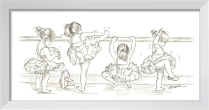 Ballerinas I by Steve O'Connell